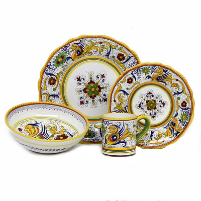 RAFFAELLESCO: 4 Pieces Place Setting