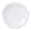 VIETRI: Incanto Stone White Baroque Dinner Plate
