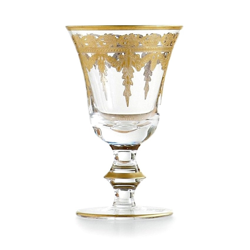 ARTE ITALICA: Vetro Gold Wine Glass