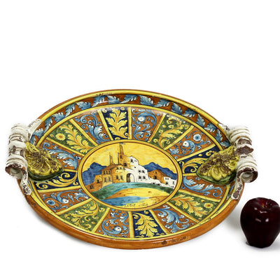 MAJOLICA TOSCANA: Luxury Centerpiece ~ One of a Kind Masterpiece