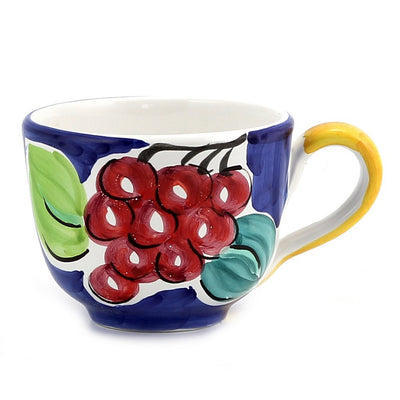FRUTTETO: Cup with Grape design and Blue