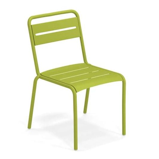 EMU ITALY: STAR - Outdoor/Indoor Iron Side Chair
