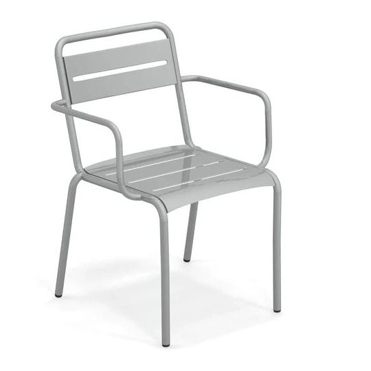 EMU ITALY: STAR - Outdoor/Indoor Iron Armchair