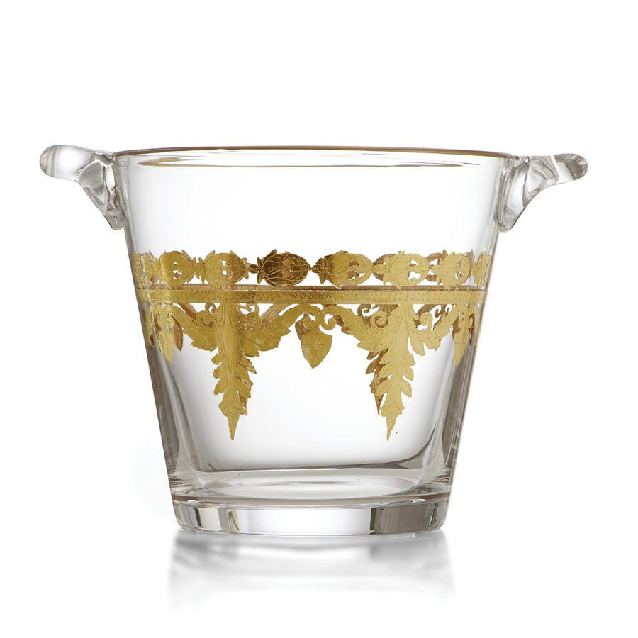 ARTE ITALICA: Vetro Gold Ice Bucket