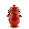 SCAVO CORDA: Canister Small SELENIO RED