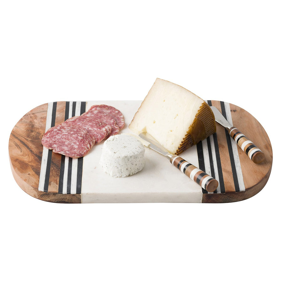JULISKA: Stonewood Stripe Serving Board + 2 Spreaders