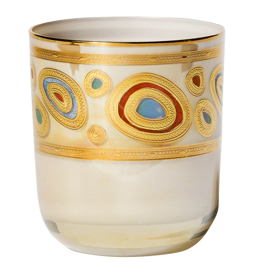 VIETRI: Regalia Water Glass Tumbler Cream