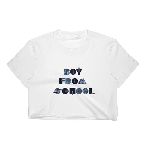 Boy From School Women's Crop Top