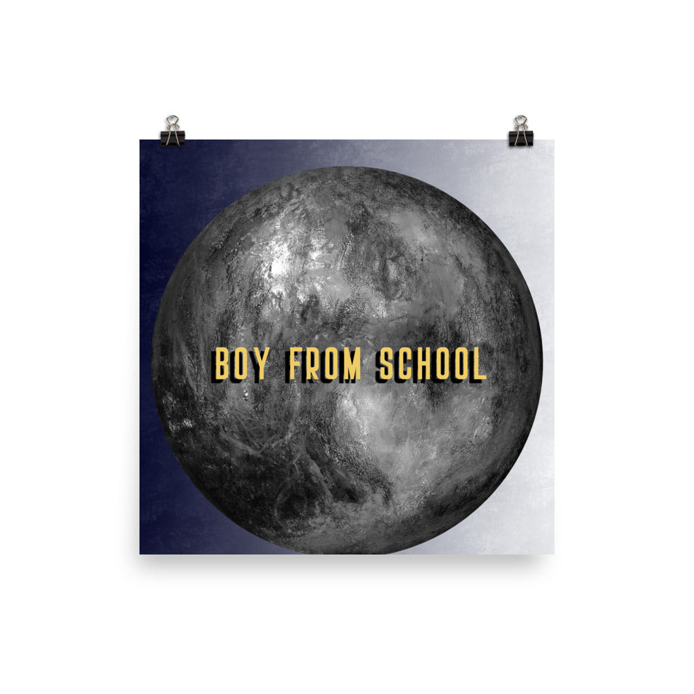 Boy From School Lunar Poster