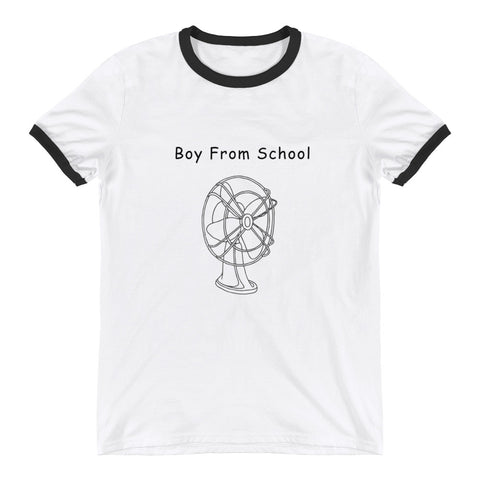 Boy From School Women's Racerback Tank