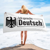 I speak German - Towel