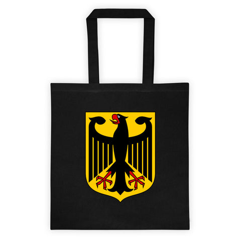 Tote bag with German Eagle crest
