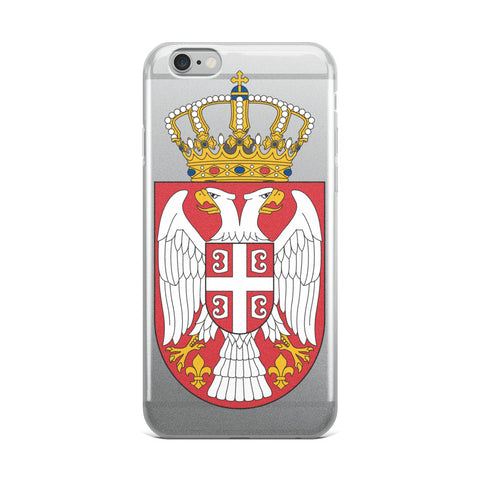Serbian Crest iPhone Case