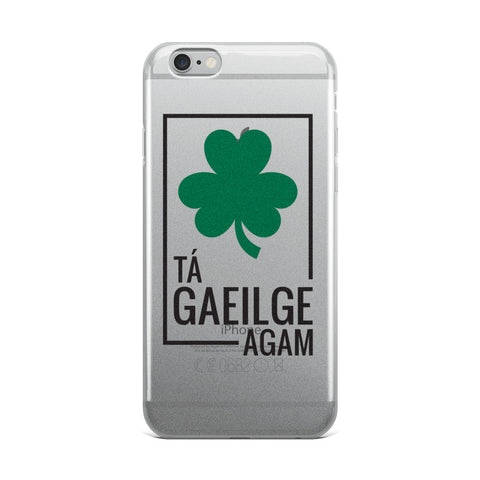 I speak Irish - iPhone Case