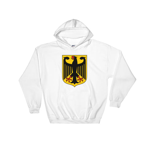 Hooded Sweatshirt with German Eagle crest