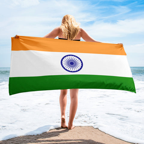 Indian Flag Towel