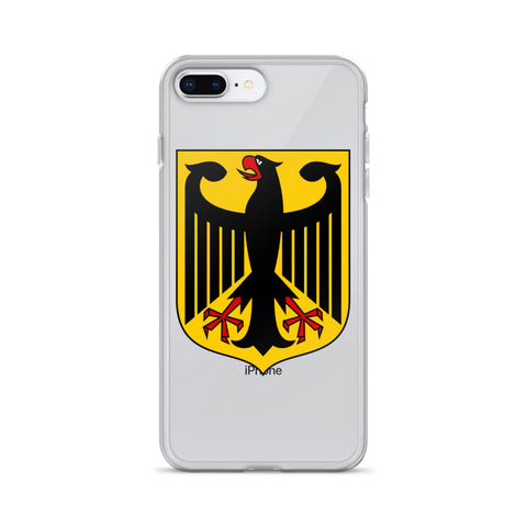 iPhone Case with German Eagle crest