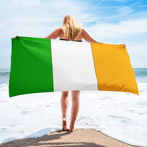 Irish flag Towel