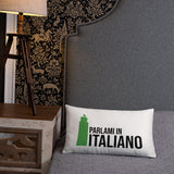 Speak Italian to me - Basic Pillow