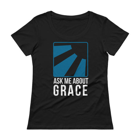 Ask me about Grace English Ladies' Scoopneck T-Shirt
