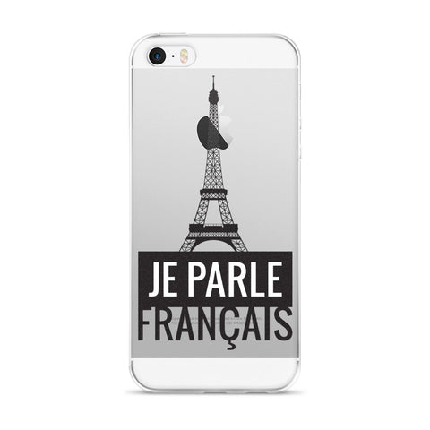 I speak French - iPhone Case