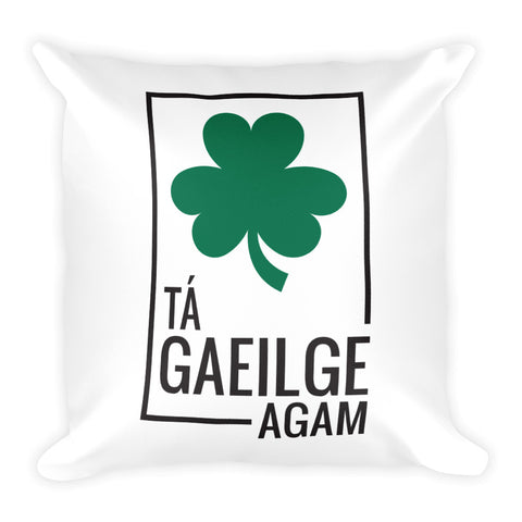 I speak Irish - Square Pillow