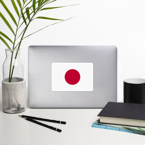 Japanese Flag Bubble-free stickers