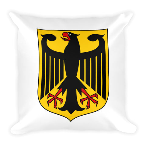 Square Pillow with German Eagle