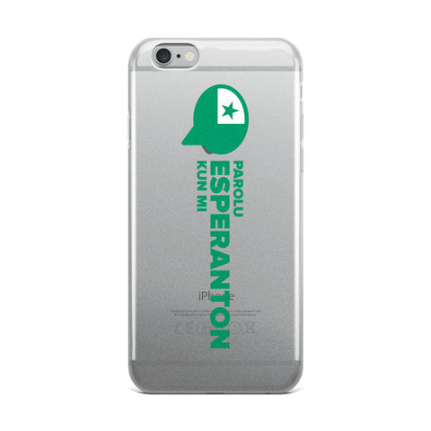 Speak Esperanto to me iPhone Case