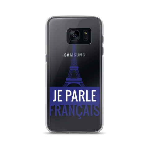 I speak French - Samsung Case