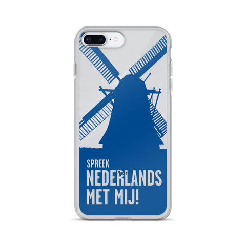 Speak Dutch to me iPhone Case