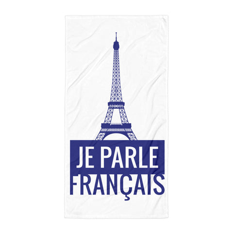 I speak French - Towel