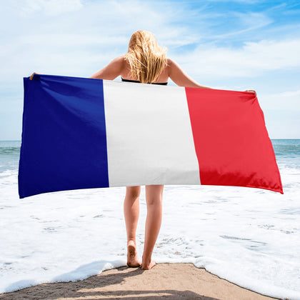 French Flag Towel