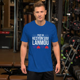 Ask me about Love - Haitian Creole -Short-Sleeve Unisex T-Shirt