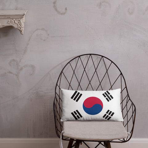 Korean Flag Basic Pillow