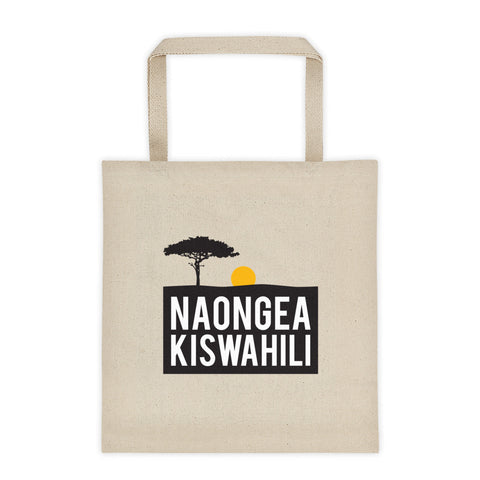I speak Swahili - Tote bag