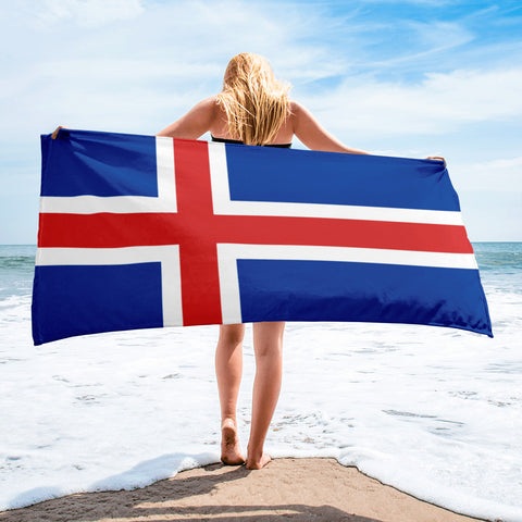 Icelandic Flag Towel