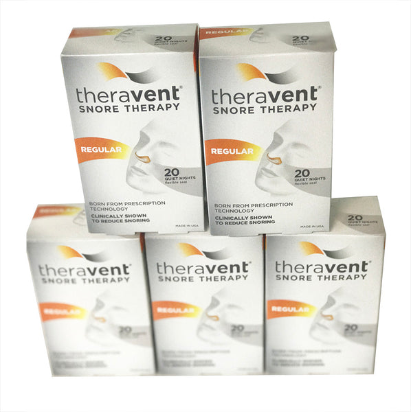 Theravent REGULAR - 5 PACK bundle