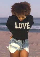 Corinthians LOVE Cropped Hoodie - Outspoken Clothes