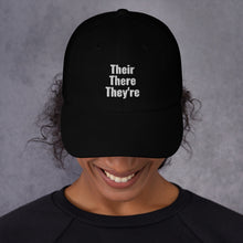 Their, There, and They're hat - Outspoken Clothes