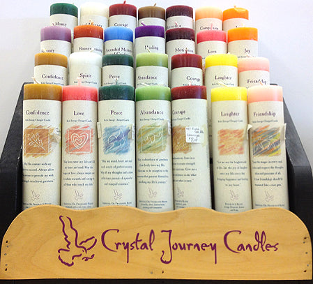 Crystal Journey Reiki Candles  - -      A - C