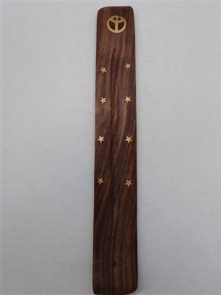 Incense Paddles with Peace Symbol