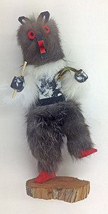 "Kachina Doll ""Bear"" Signed By Cutom (Navajo)"