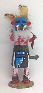 "Kachina Doll ""Morning Singer"" Signed (Navajo)"