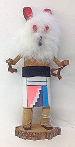 "Kachina Doll ""Bear"" By V. Begay (Navajo)"