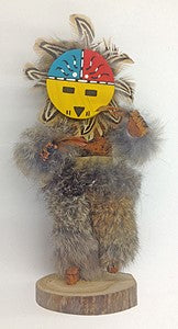 "Kachina Doll ""Sunface"" By V. Begay (Navajo)"