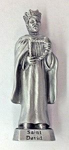 St. David Pewter Statue