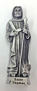 St. Thomas Pewter Statue