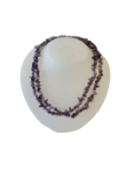 Amethyst Stone Chip Necklaces