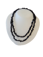 Blue Goldstone Stone Chip Necklaces